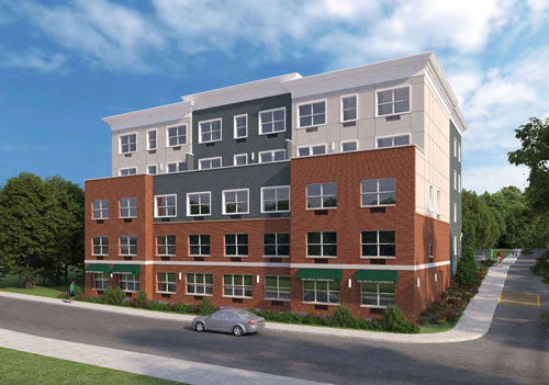 Digital rendering of 215 Ridge at Bound Brook