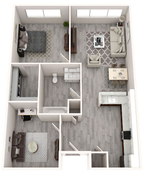 floorplan image for Unit 111