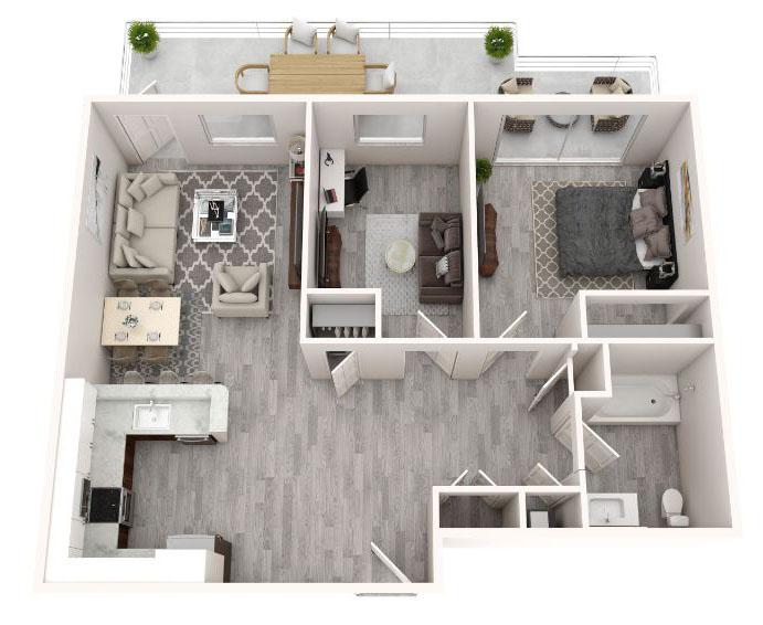 floorplan image for Unit 110